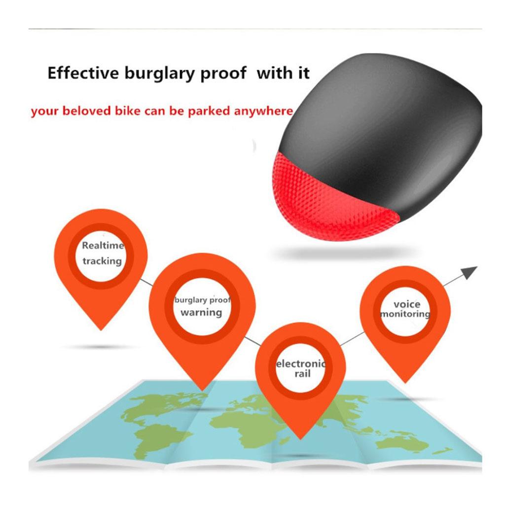 K9 Mini Pyörän GPS IP55 Paikannin Ja Varahälytin Älypuhelimille