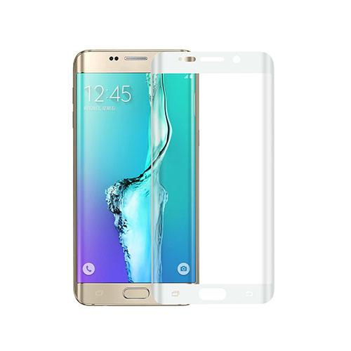 0.1mm Pet Kaareva Näytönsuoja Samsung Galaxy S6 Edge Plus Puhelimelle - Valkoinen
