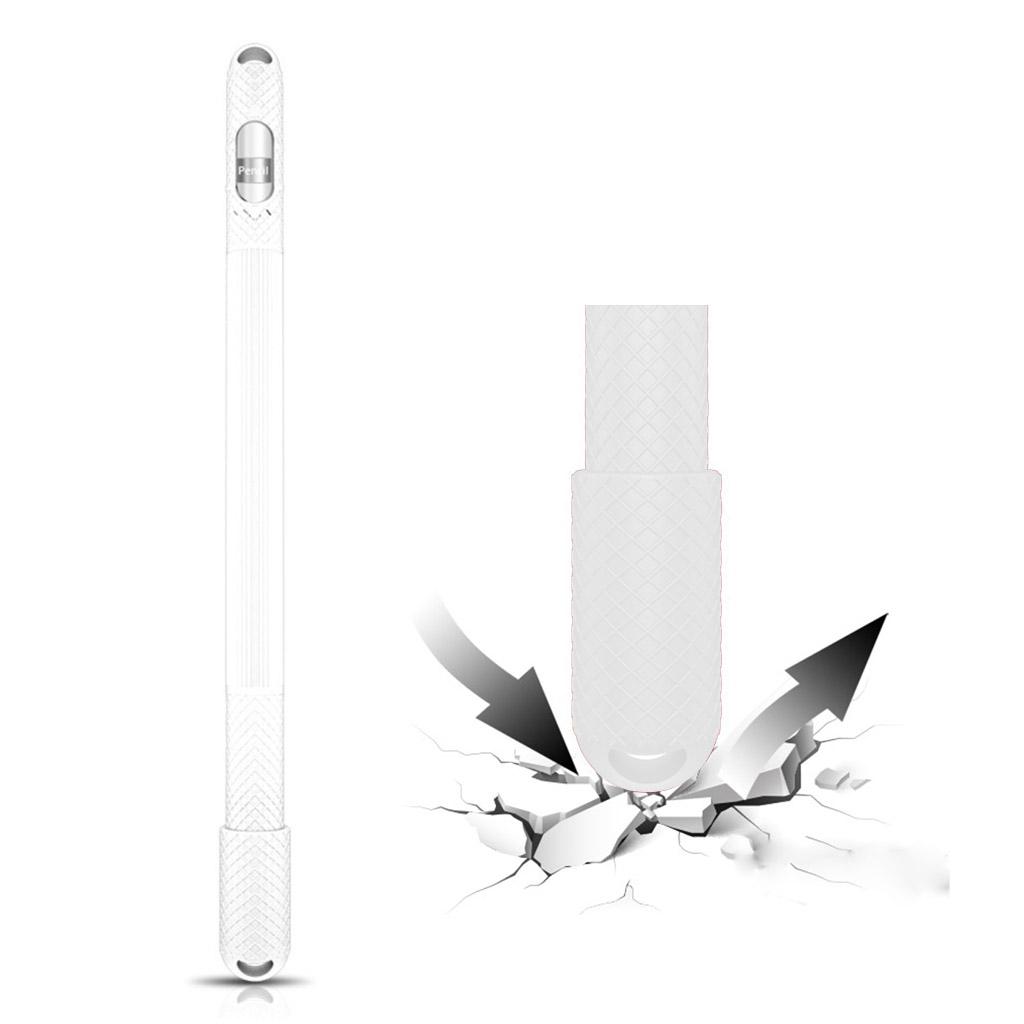 Apple Pencil anti-slip silicone case - White