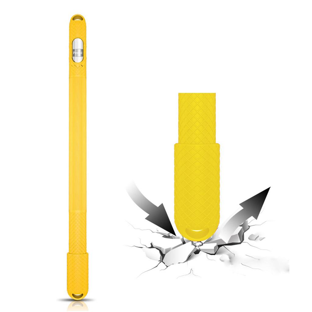 Apple Pencil anti-slip silicone case - Yellow