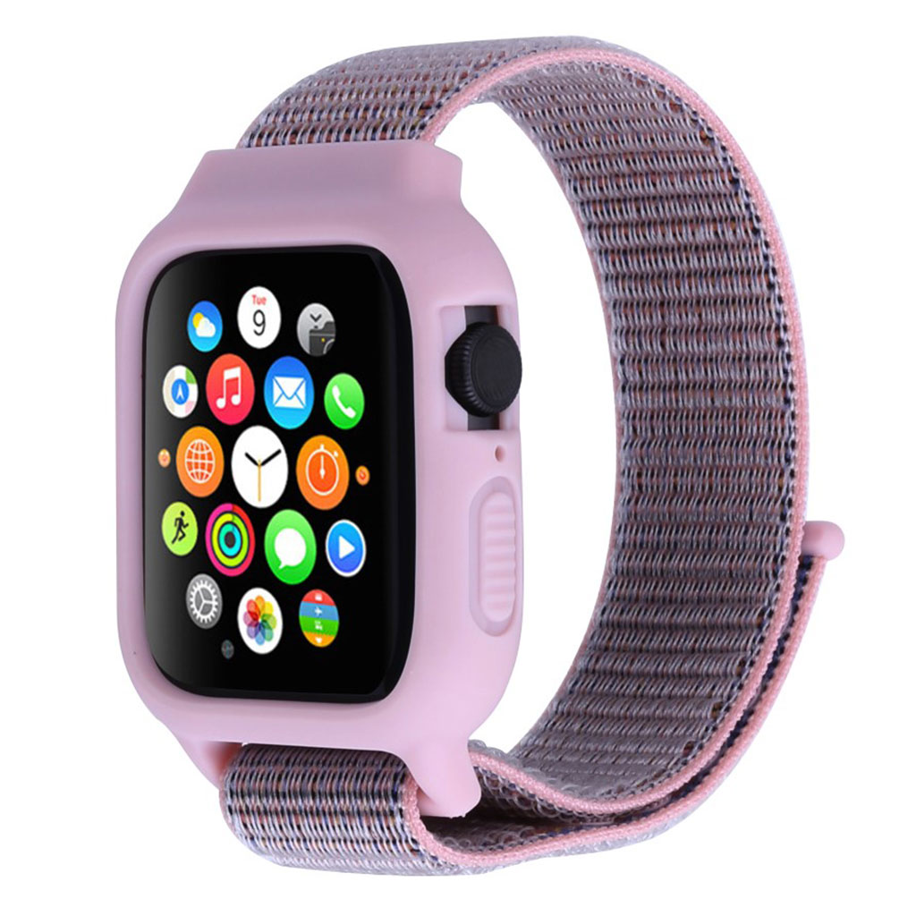 Apple Watch Series 5 40mm nylon silicone frame - Purple